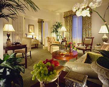 Suite at the Fairmont Olympic Hotel Seattle Hotel